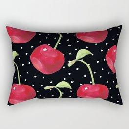 Cherry pattern III Rectangular Pillow