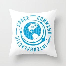 Intergalactic Space Command Logo 1 Throw Pillow