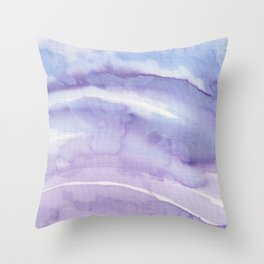 Abstract wave 08 textile Throw Pillow