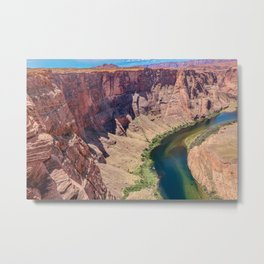 Colorado River Horseshoe Bend Grand Canyon Metal Print