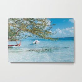Chillaxing Metal Print