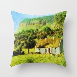 An Irish Idyll Throw Pillow
