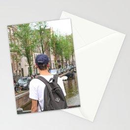 amsterdam boy Stationery Cards