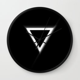 Inverted Triangle Wall Clock