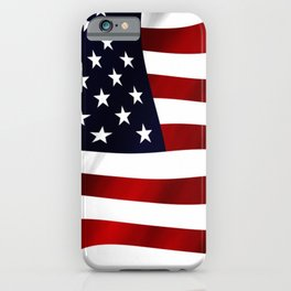 American Flag USA iPhone Case