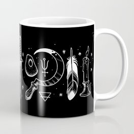 Accoutrements BLACK Coffee Mug