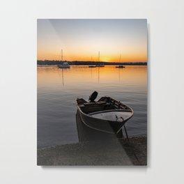 Sunset on Lake Macquarie Metal Print