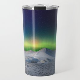 Glen Arbor Michigan Northern Lights Travel Mug