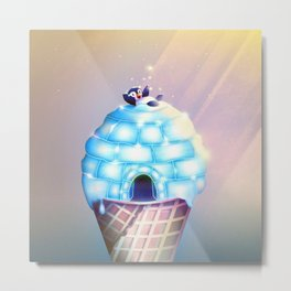 Igloo Flavour Metal Print