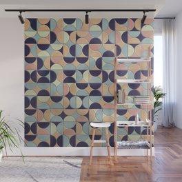 Mid Century Tiles Design - Portuguese - Art Deco Mosaics Wall Mural