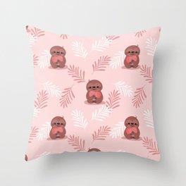 Sloth Baby Throw Pillow