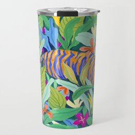 Colorful Jungle Travel Mug