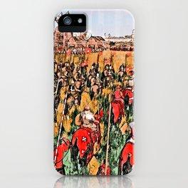 Siege of Edessa iPhone Case