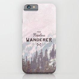 The Hopeless Wanderer iPhone Case