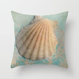 She sells sea shells... Throw Pillow