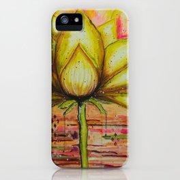 Gold Lotus - Gold Lotus Oracle Series iPhone Case