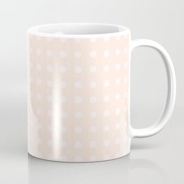 Soft Pink Polka Dots Coffee Mug