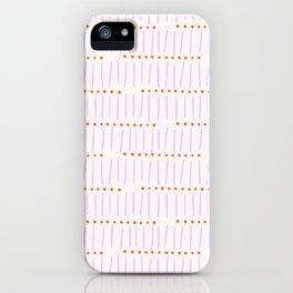 Matchsticks iPhone Case