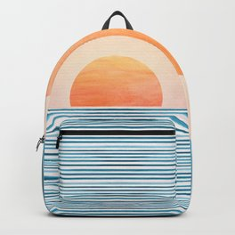 Morning in Paradise ~ Tropical Sunrise Backpack