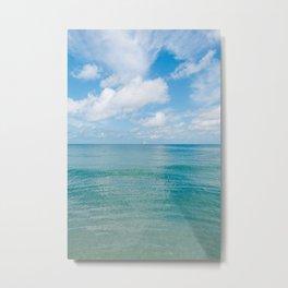 Florida Ocean View IV Metal Print