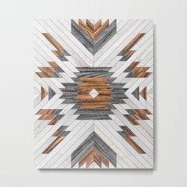 Urban Tribal Pattern No.8 - Aztec - Wood Metal Print
