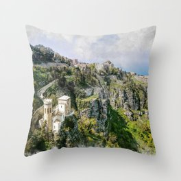 Erice art 2 Throw Pillow