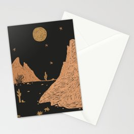 A Night in the Desert Stationery Cards