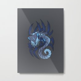 Elder Sign - Scorpio Metal Print