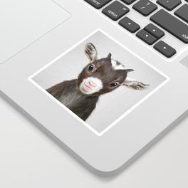 Baby Goat - Colorful Sticker