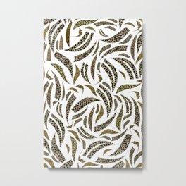 Safari Abstract Patterns Metal Print