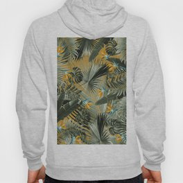 Bird of Paradise Jungle Leaves Dream #3 #tropical #decor #art #society6 Hoody
