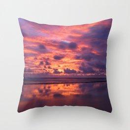 Kauai Hawaii Sunrise | Tropical Beach Nature Ocean Coastal Travel Photography Print Throw Pillow