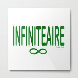 INFINITEAIRE - Rasha Stokes Metal Print