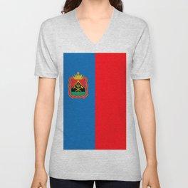 flag of Kemerovo Unisex V-Neck