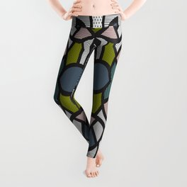 Pop Art Tiles Leggings