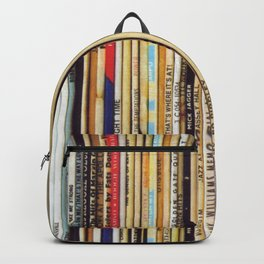 vinyl records Backpack