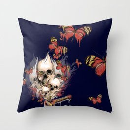 Evolution of Youth Throw Pillow