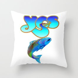 Chris Squire - Yes Throw Pillow