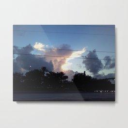 Spectacular Sunset Metal Print