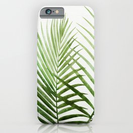 Fresh Palm Fronds iPhone Case
