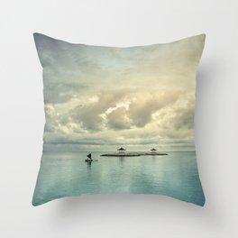 the art of silence Throw Pillow