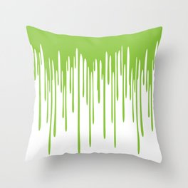 Snot Drippings Throw Pillow