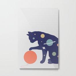 Cat Landscape 51 Metal Print