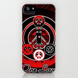 One Love (Emo) iPhone Case