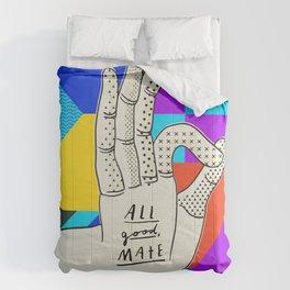 All good, mate Comforters