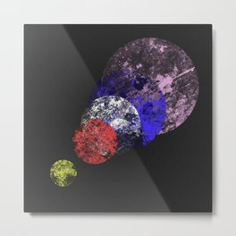 Aligned Universe - Space Abstract Metal Print