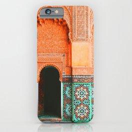 marrakech doorway iPhone Case