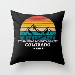 STORM KING MOUNTAIN Colorado Throw Pillow