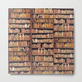 Books, books, books Metal Print