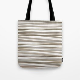 Stripes neutral graige beige gray  Tote Bag